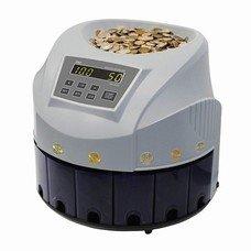 Счетчик-сортировщик монет PRO CS 80R, 300 монет/мин., загрузка 1600 монет, 8 приемных лотков