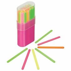 Счетные палочки СТАММ (30 штук) многоцветные, в пластиковом пенале, СП06
