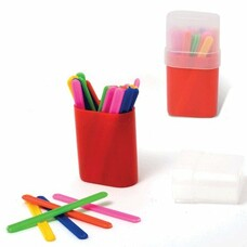 Счетные палочки (30 штук) в пластиковом пенале, СПК-30
