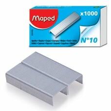 Скобы для степлера MAPED (Франция), №10, 1000 штук, 324105