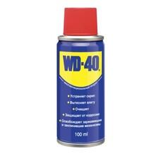 Средство WD-40 универсальное, 100 мл, для тысячи применений в офисе, быту, производстве, WD0000