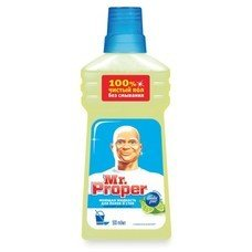 "Средство для мытья пола и стен 500 мл, MR.PROPER (Мистер Пропер) ""Бодрящий лайм и мята"""