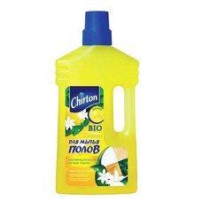 """Средство для мытья пола 1 л, CHIRTON (Чиртон), не содержит фосфатов, """"Лимон"""", YGIR-675"""