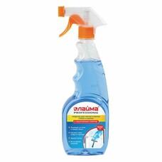 Средство для мытья стекол и зеркал с нашатырным спиртом 500 мл, ЛАЙМА PROFESSIONAL, распылитель, 604744