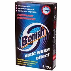 """Средство для удаления пятен 600 г, BONISH (Бониш) """"Optic white effect"""", без хлора"""