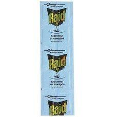 Средство от насекомых пластины для фумигатора RAID (Рейд), регулярные, 10 шт., 636837