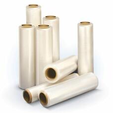 Стрейч-пленка для ручной упаковки, 50 см х 170 м, 17 мкм, 1,3 кг -нетто, ПЕРВИЧНОЕ СЫРЬЕ, растяжение 300%