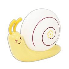 Светильник-ночник ЭРА NLED-405, светодиодный аккумумяторный, детский, улитка, желтый, NLED-405-0.5W-Y