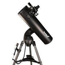 Телескоп LEVENHUK SkyMatic 135 GTA, рефлектор, 2 окуляра, автонаведение, для начинающих, 18114