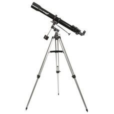 Телескоп LEVENHUK Skyline 70х900 EQ, рефрактор, 2 окуляра, ручное управление, для начинающих, 24298