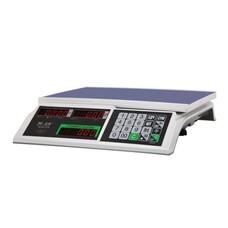 Весы торговые MERCURY M-ER 326-32.5 LED (0,1-32 кг), дискретность 5 г, платформа 325x230 мм, без стойки