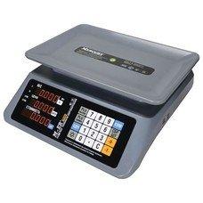 Весы торговые MERCURY M-ER 320AC-32.5, LED (0,1-32 кг), дискретность 5 г, платформа 330х230 мм, без стойки, 320AC-32.5 LED