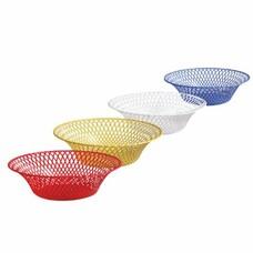Корзинка круглая, диаметр 25 см, для фруктов и сухарей, цвет ассорти, IDEA, М 1213