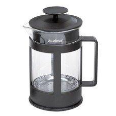 """Заварник (френч-пресс) WALTZ / ЛАЙМА """"Утро"""", 1 л, жаропрочное стекло/пластик/нержавеющая сталь, 601356"""