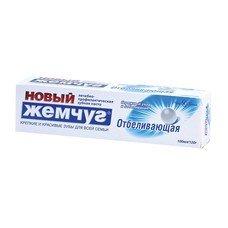 """Зубная паста, 100 мл, НОВЫЙ ЖЕМЧУГ """"Белоснежная улыбка"""", отбеливающая, 17128"""