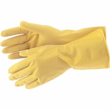 Перчатки хозяйственные латексные, XL СибрТех [67879]