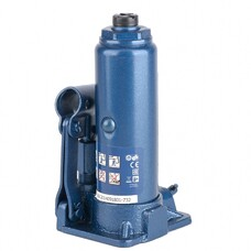 Домкрат гидравлический бутылочный, 2 т, h подъема 181–345 мм, в пласт. кейсе Stels [51121]