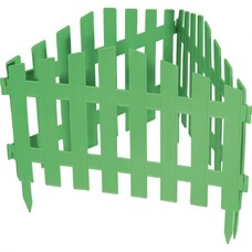 "Забор декоративный ""Марокко"", 28 х 300 см, белый// Palisad [65035]"