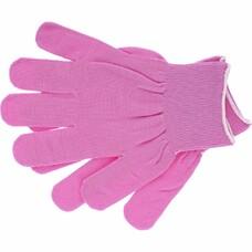 "Перчатки нейлон, 13 класс, цвет ""розовая фуксия"", L"