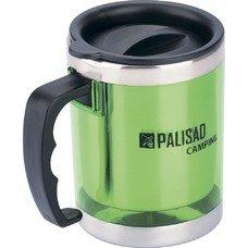 Термокружка с крышкой-поилкой в пластиковом корпусе, 300 мл Palisad Camping [69531]