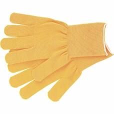 "Перчатки нейлон, 13 класс, цвет ""лимон"", L"