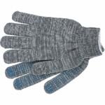 Перчатки с синими  точками