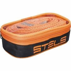Трос буксировочный 2,5 тонны, 2 крюка, сумка на молнии Stels [54377]