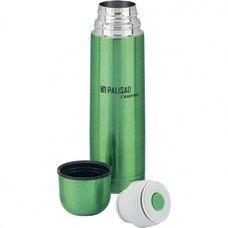Термос классический с клапаном, 500 мл (зеленый) Palisad Camping [69537]