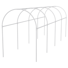 Каркас парника пластиковый 3х1,1х1,2м, дуга d20мм, белый Palisad [63901]