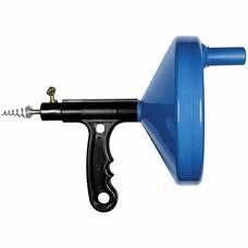 Трос для прочистки труб, L - 3,3 м, D - 6 мм, пластмассовый корпус СибрТех [92464]