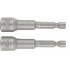 Биты с торцевыми головками 12 мм - 65 мм, 2 шт Matrix [11790]