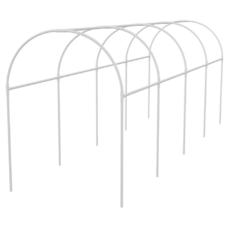 Каркас парника пластиковый 5х1,1х1,2м, дуга d20мм, белый Palisad [63902]