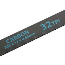 Полотна для ножовки по металлу, 300 мм, 32TPI, Carbon, 2 шт. Gross [77718]