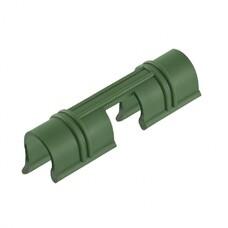 Универсальные зажимы для крепления к каркасу парника d12мм, 20 шт/уп, зеленые Palisad [64429]
