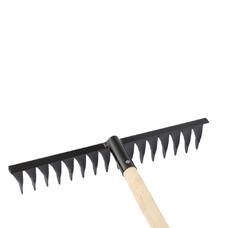 Грабли 16-зубые, 420 мм., с черенком, витые СибрТех [61763]