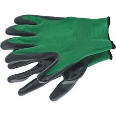 Перчатка с чёрным нитрильным покрытием, стойкая к маслу и бензину, L, 15 класс вязки Palisad [67865]