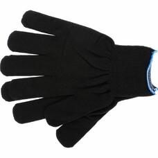 Перчатки нейлон, 13 класс, чёрные, XL