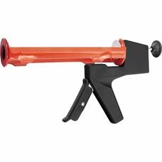 """Пистолет для герметика, 310 мл, """"полуоткрытый"""", противовес, круглый шток 8 мм Matrix [88666]"""