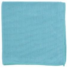 Салфетка из микрофибры жемчужная для бытовой техники и мебели голубая 400*400 мм Elfe [92317]