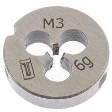 Плашка М3 х 0,5 мм СибрТех [77005]
