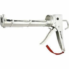 "Пистолет для герметика, 310 мл, ""полуоткрытый"", хромир., зубчатый шток 7 мм Matrix [88640]"