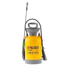 Опрыскиватель усиленный помповый 5 литров, со шлангом и разбрызгивателем Palisad LUXE [64757]