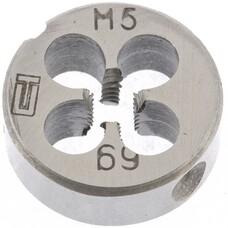 Плашка М5 х 0,5 мм СибрТех [77010]