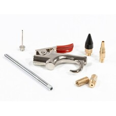 Набор продувочный пистолет, пневмат. в комплекте с насадками, 6 шт. Matrix [57336]