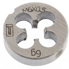 Плашка М6 х 0,5 мм СибрТех [77015]