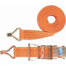 Ремень багажный с крюками, 0,05х12 м, с храповым механизмом Stels [54388]