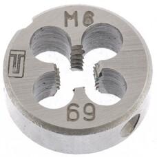 Плашка М6 х 1,0 мм СибрТех [77017]