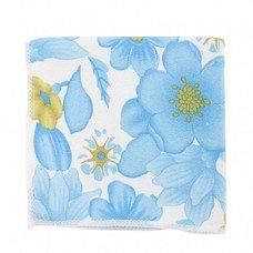Салфетки из микрофибры с син.цветами 300*300 мм Elfe [92306]
