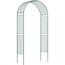 Арка Садовая разборная «Сетка широкая» 2,5 х 0,5 х 1,2 метра