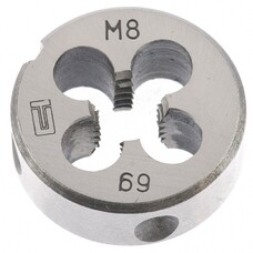 Плашка М8 х 1,25 мм СибрТех [77020]